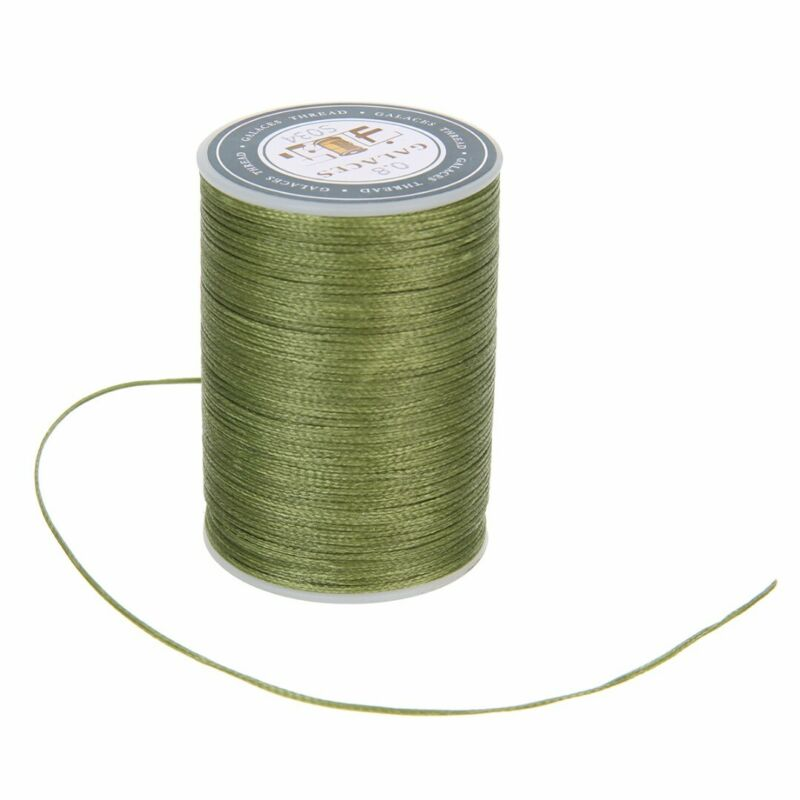 0.8mm Waxed Thread Repair Cord String Sewing Leather Hand Wax Stitching Craft 3