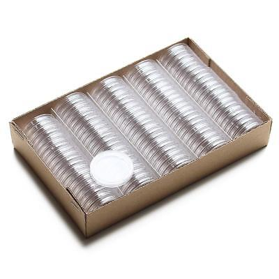 COIN CAPSULES - ALL INTERNAL SIZES 14mm - 42mm (10, 30, 50, 100pcs) 2