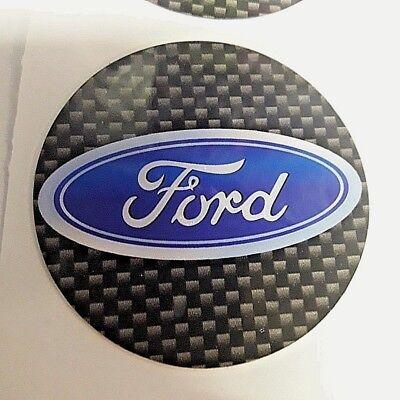 adesivi Tipo FORD per cerchi auto coprimozzi 4 PEZZI 3