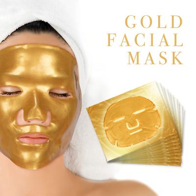 Premium Collagen Crystal Face Masks Anti Ageing Skin Care Gold White x5 x10 x50 4