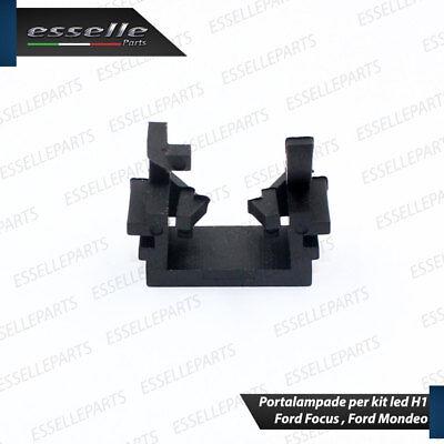 Coppia Adattatori Portalampade Kit Led H1 Per Ford Focus, Ford Mondeo 3