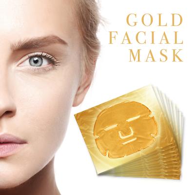 Premium Collagen Crystal Face Masks Anti Ageing Skin Care Gold White x5 x10 x50 2