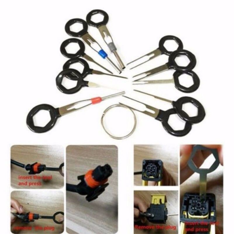 Car Terminal Removal Tool Wire Plug Connector Extractor Puller Release Pin 26Pcs 4