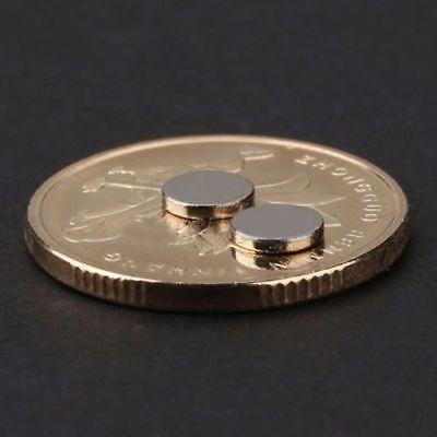 100stk Neodym Magnete 5x1mm Round Scheibe Magneten Minimagnete Büro Pinnwand N52 4