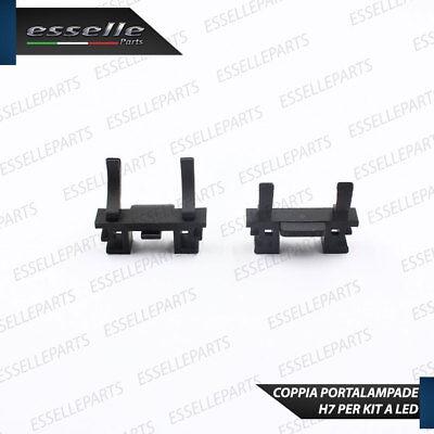 Coppia Adattatori Portalamapde Porta Lampade Per Kit Led H7 Fiat 500 Cinquecento 3