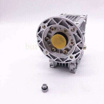 NMRV040 Worm Gearbox Gear Reducer 71B14 Ratio 10//20/25/30/40/50/60/80/100:1 4