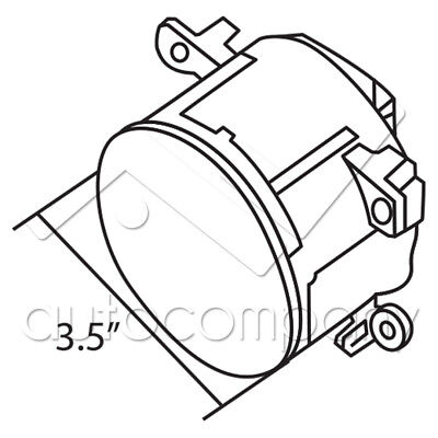 For Grand Vitara Sx4 Fog Lights Front Bumper Lights Wwiring Kit