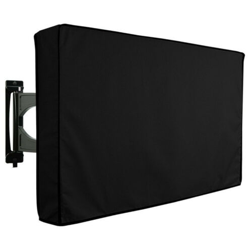 "40""-65"" Inch Waterproof TV Cover Outdoor Patio Flat Television Protector Black 3"