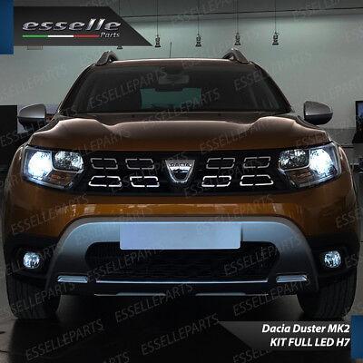 Conversione Fari Full Led Dacia Duster Mk2 6000K Xenon Led Canbus Bianco 6400 Lm 2