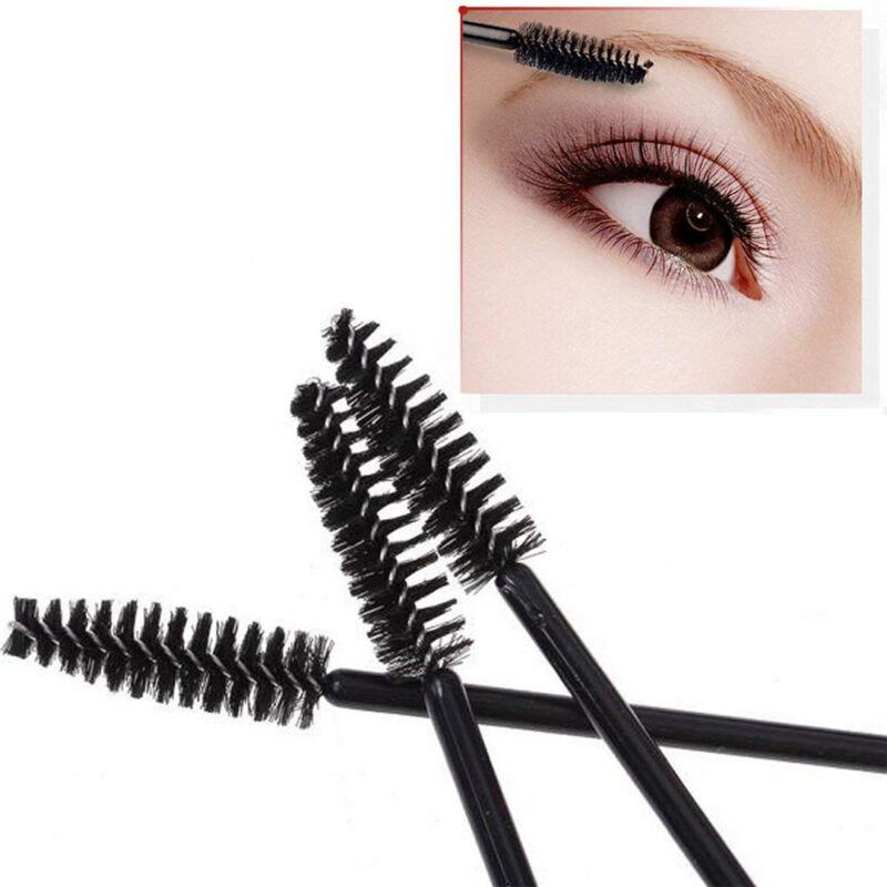 50/500/1000pcs Disposable Mascara Wands Eyelash Brush Applicator Extension AU 3