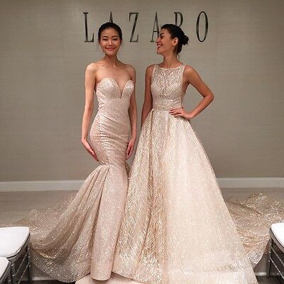 GLITTER LAZARO 3714 Inspired Wedding Dress - $1,033.00 | PicClick
