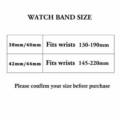 Cinturino per Apple Watch 42MM 44MM Morbido Nylon Sport Loop 11
