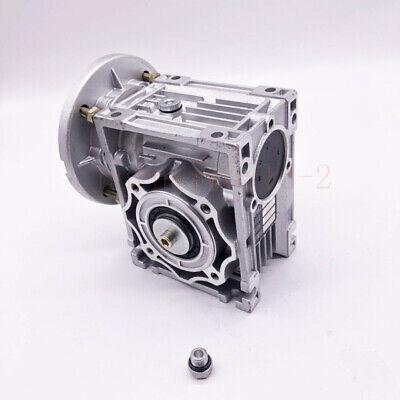 NMRV040 Worm Gearbox Gear Reducer 71B14 Ratio 10//20/25/30/40/50/60/80/100:1 5
