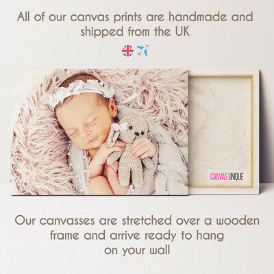 Personalised Photo Canvas Picture Photo Canvas Print Wall Art Photo Canvas Frame 6