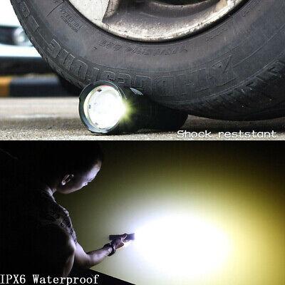 Super-bright 90000lm flashlight CREE LED P70 Tactical torch USB +5000mAh battery 9