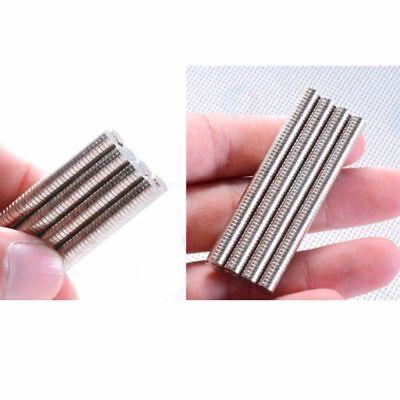 100stk Neodym Magnete 5x1mm Round Scheibe Magneten Minimagnete Büro Pinnwand N52 5