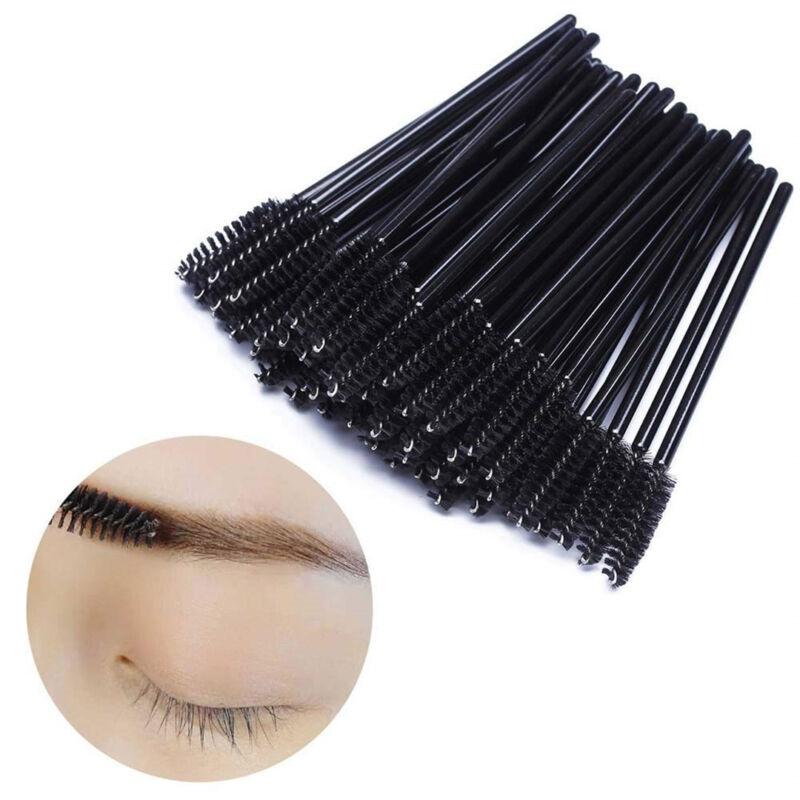 50/500/1000pcs Disposable Mascara Wands Eyelash Brush Applicator Extension AU 5