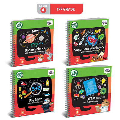 Leapfrog LeapStart Books - Complete Library Level 1 to 4 (age 2-7 years) 5