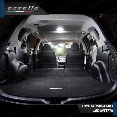 Kit Led Interni Toyota Rav-4 3 Iii Kit Di Conversione Completa 100% No Error 4