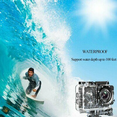 Ultra 4K Full HD 1080P Waterproof Sports Camera Wi-Fi Action Camcorder as Go Pro 9