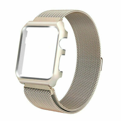 For Apple Watch Series 3/2/1 Milanese Stainless Steel Watch Band Strap 38mm/42mm 9