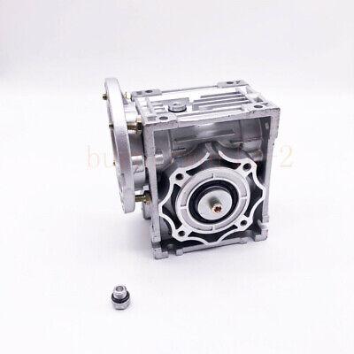 NMRV040 Worm Gearbox Gear Reducer 71B14 Ratio 10//20/25/30/40/50/60/80/100:1 6