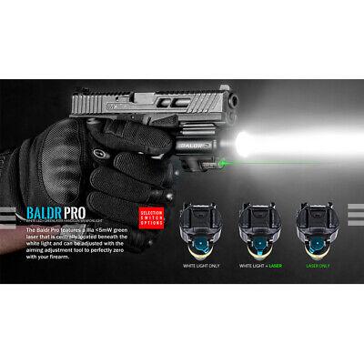 Olight Baldr Pro 1350 Lumen Pistol Flashlight with Green Laser Sight (Tan) 3