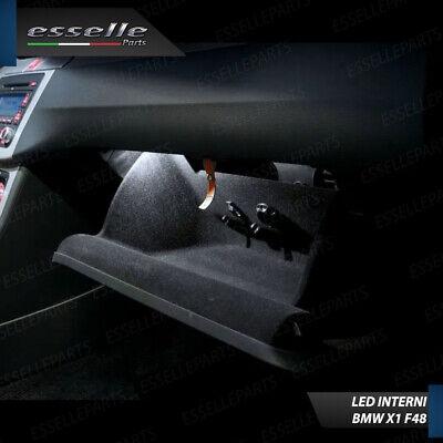 KIT LED INTERNI COMPLETO SPECIFICO BMW X1 F48 CANBUS 6000K CONVERSIONE COMPLETA