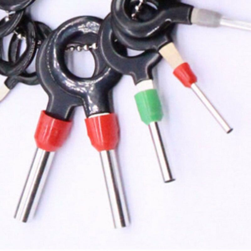 Car Terminal Removal Tool Wire Plug Connector Extractor Puller Release Pin 26Pcs 3
