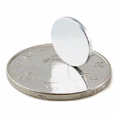 12x1mm 10-100tlg N52 Starke Scheibe Runde Magneten Rare Earth Neodym magnet 3