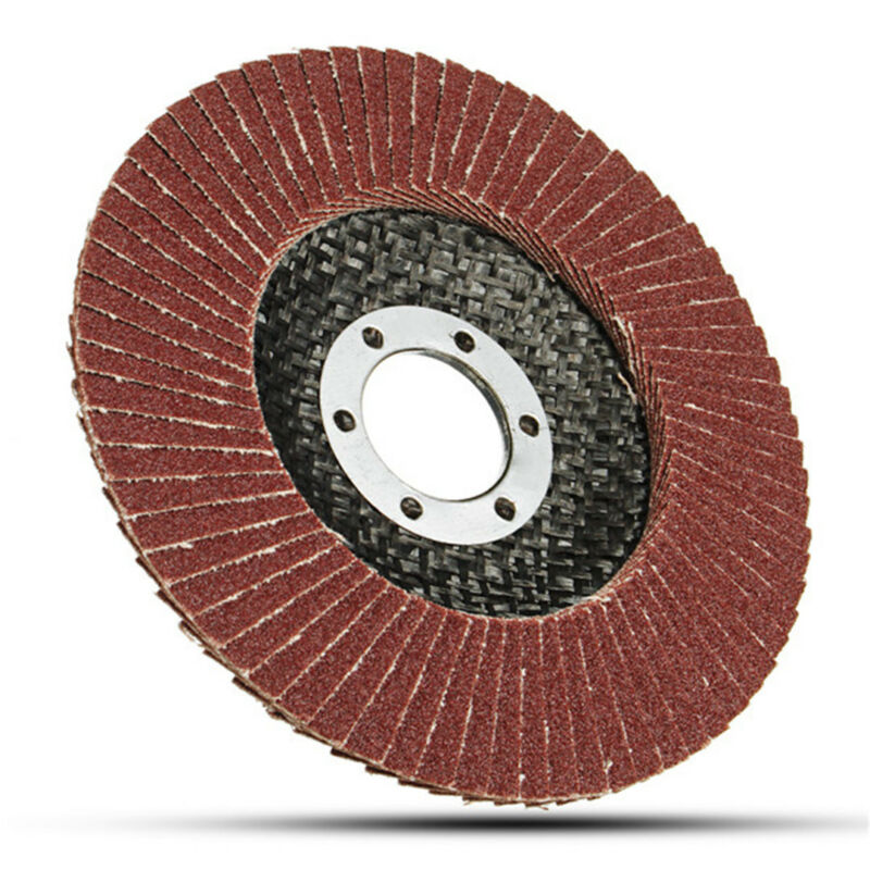 50pcs Abrasive 5''125MM Metal Sanding Flap Disc Angle Grinder 40 Grit AU Stock 7
