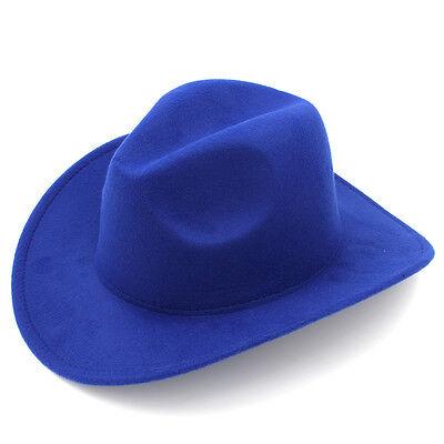 05ff786bc KIDS BOYS GIRLS Felt Cowboy Hat Wool Blend Children Western Cowgirl Cap  Size XS