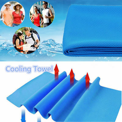 Ice Cold Enduring Running Jogging Gym Chilly Pad Instant Cooling Towel Sports 2