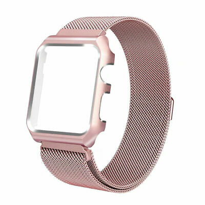 For Apple Watch Series 3/2/1 Milanese Stainless Steel Watch Band Strap 38mm/42mm 10