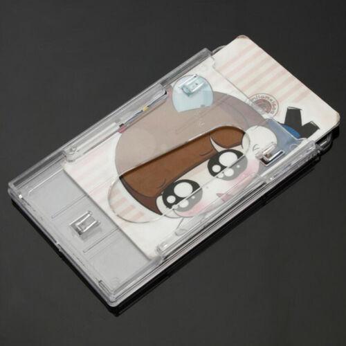 5x Plastic Badge ID Holder Double Side Card Vertical Hard Multi Transparent AU 6
