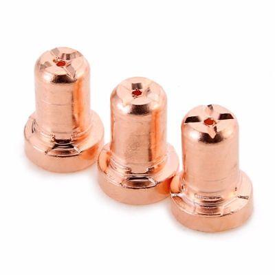 60pcs PT-31 LG-40 Plasma Cutter Cutting Torch Electrode&Nozzles Consumables Kit 11