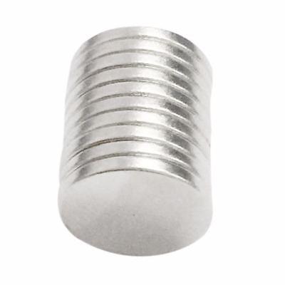 10tlg N52 Starke Scheibe Runde Magneten Rare-Earth Neodym Magnete 12x1mm 2
