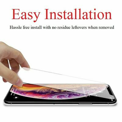 Premium iPhone X, XS, XR, XS MAX Tempered Glass Screen Protector - 3 PACK 10