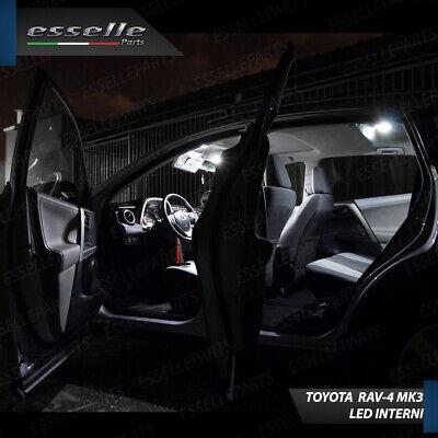 Kit Led Interni Toyota Rav-4 3 Iii Kit Di Conversione Completa 100% No Error 3