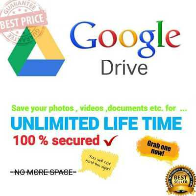 UNLIMITED GOOGLE Team DRIVE FOR YOUR EXISTING ACCOUNT get 1 gift 1 very fast new 3