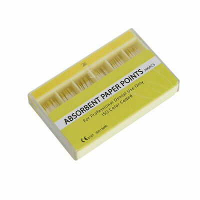 200Pcs Dental Absorbent Paper Points Sterile 7 Sizes For Dentist High Quality 2