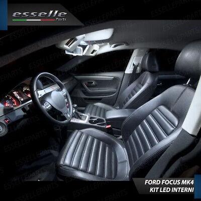 Kit Full Led Interni Ford Focus 4 Iv Conversione Completa 6000K No Avaria Luci 2