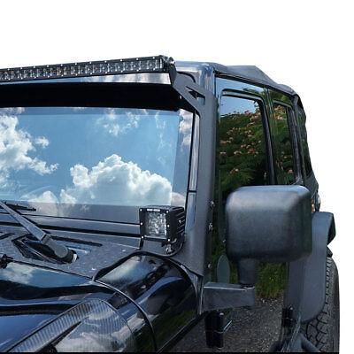 2X 3Inch 16W Led Work Light Flood Cube Pods+Universal Bracket For Boat Atv Jeep
