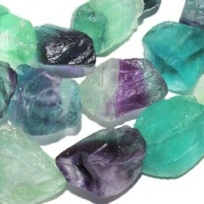 Fluorite Crystal Single Pointed Quartz Pencil Healing Wand Rainbow Obelisk Gem 8