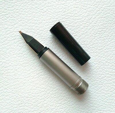 Montblanc Fountain Pen No.1128 Nib Size B Gold 585 Part Pen NOS #8 2