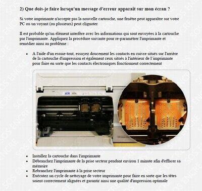 SOS ENCRE - Cartouches d'encre compatibles HP 301 XL pour DeskJet Envy OfficeJet 5
