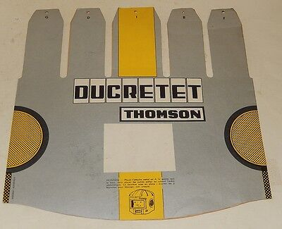 RARE Casque DUCRETET THOMSON Science Fiction - Type Chapeau Publicitaire Vintage