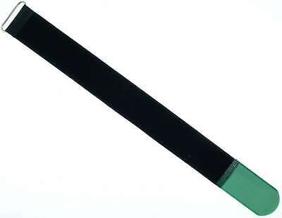 10 x Cavo Velcro nastro di velcro 500 x 50 mm VERDE SCURO Velcro Fascette per cavi in velcro nastri