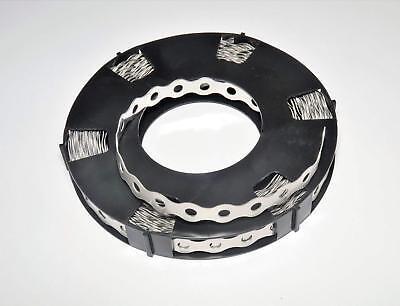10 m Lochband 17 mm Stahl verzinkt// Wellenform 1 Rolle