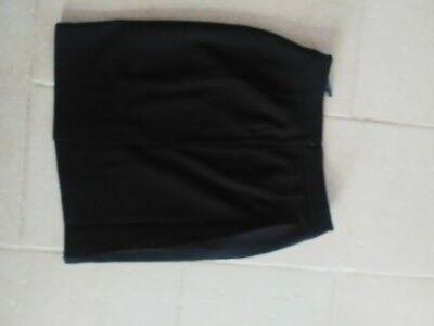 7 sur 9 Magnifique tailleur jupe noir taille 36 élégant neuf ceinture dorée  smoking 10167298221d